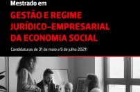 MESTRADO | Gestão e Regime Jurídico-Empresarial da Economia Social