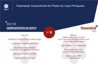 # Lançamento // O Boletim Cooperativista da OCPLP | N.º 01